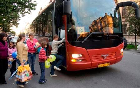 Теперь только на автобусе