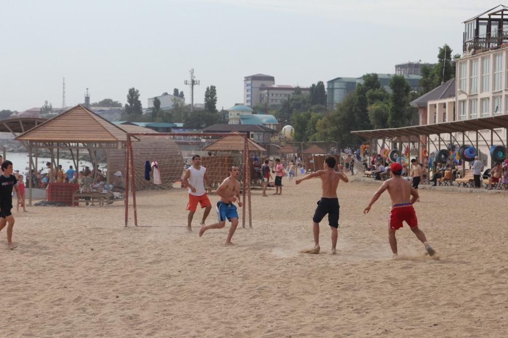Физкультура на пляже