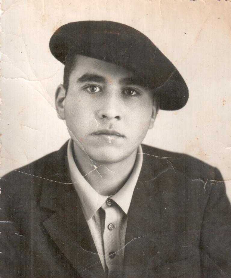 Ибрагим Мамаев,  водитель, 60-е годы