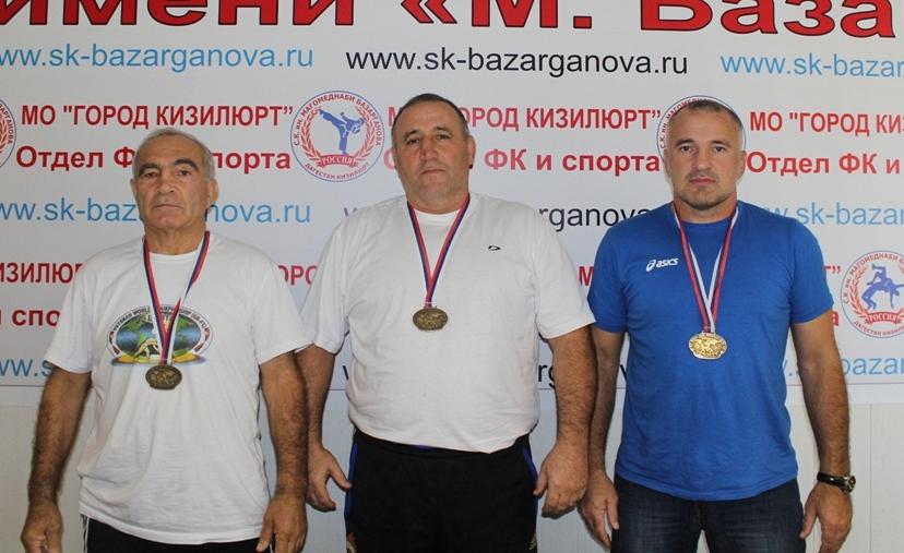 Кизилюртовцы оторвались на чемпионате мира среди ветеранов
