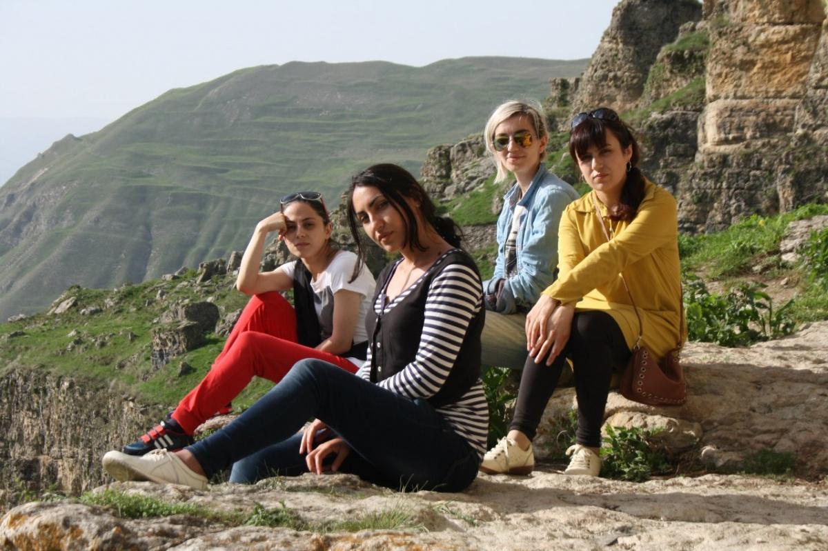 Группа начинающих дагестанских журналистов посетила Хунзахский район