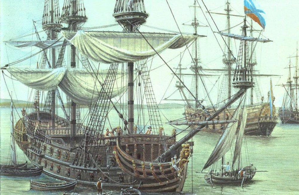 В Петровскую гавань заходили корабли…