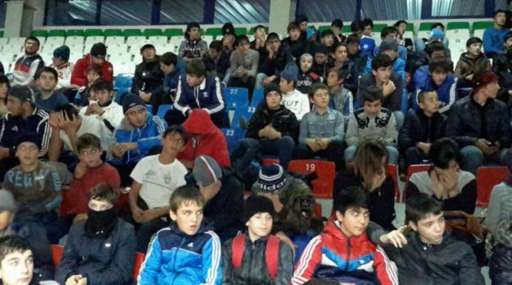 Спортсмены Хасавюрта - против терроризма