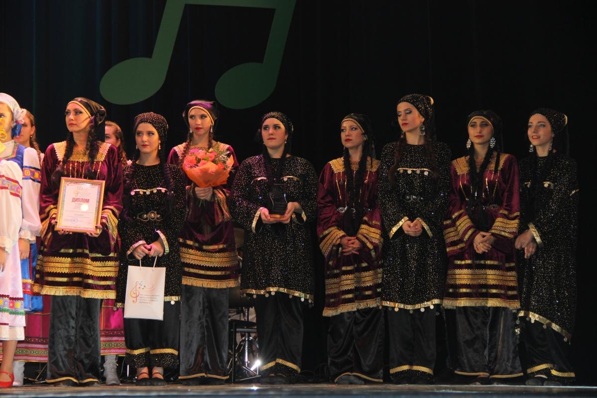 Новое достижение дагестанского ансамбля