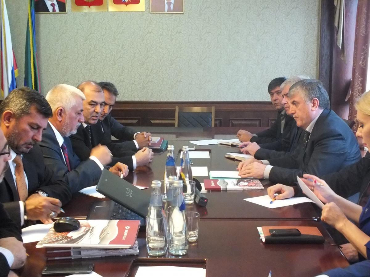 Турецкие бизнесмены изучают возможности инвестиций в Дагестан