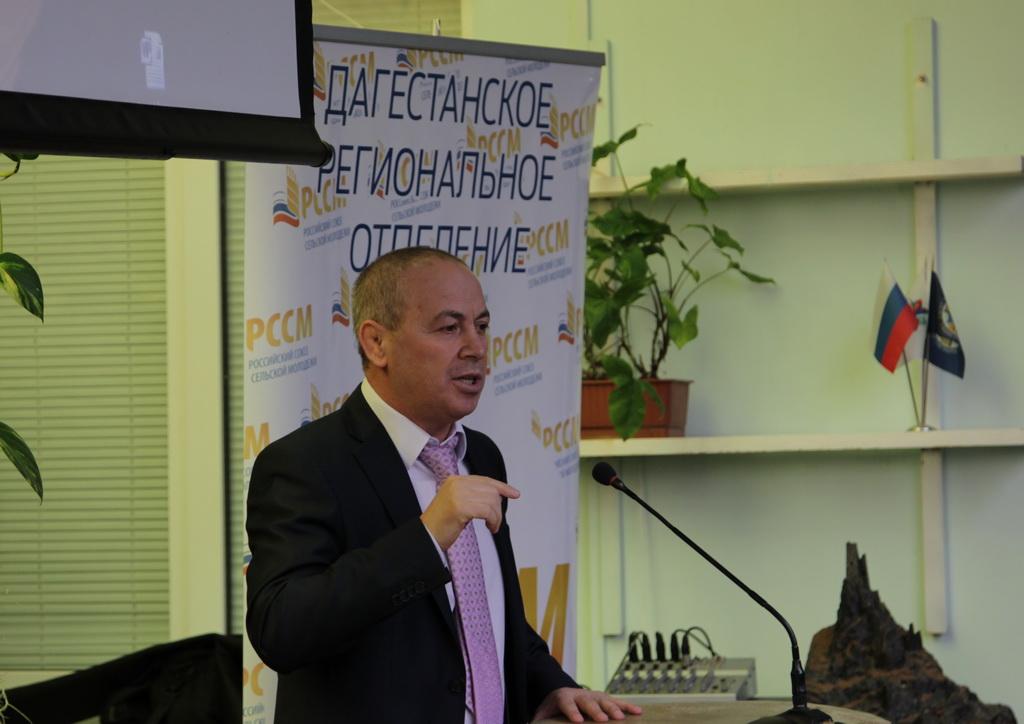 В ДГУ прошла встреча с министром Набиюлой Карачаевым
