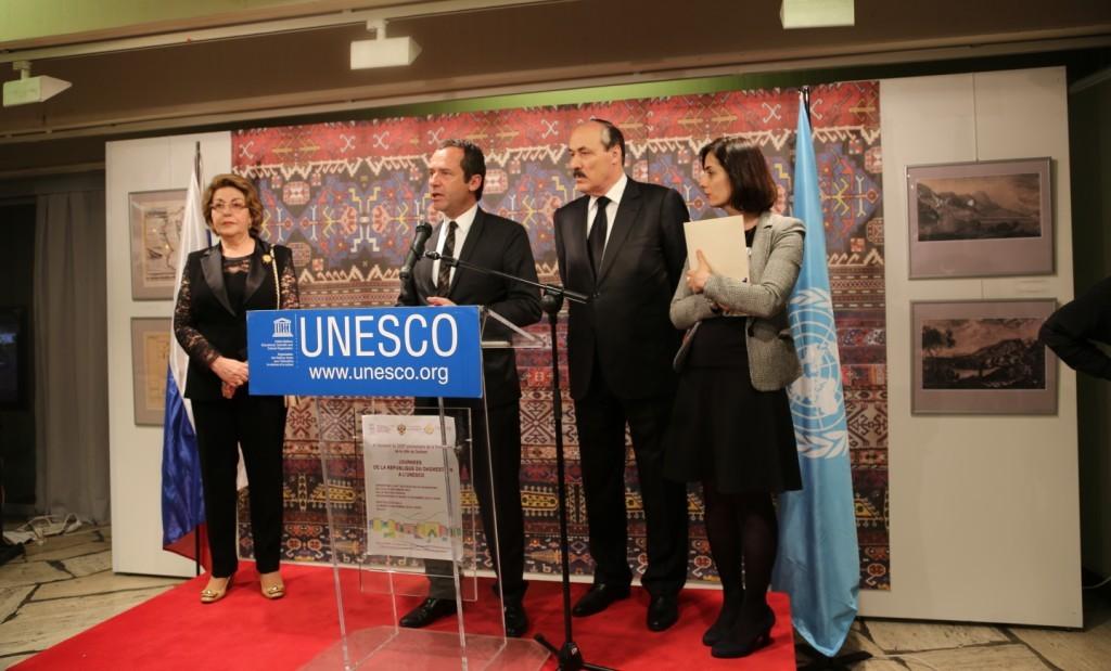 В штаб-квартире ЮНЕСКО открылась выставка «Искусство народов Дагестана», посвященная 2000-летию Дербента