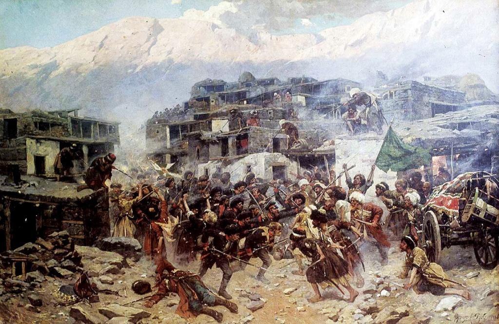 Письма неизвестного скандинава. Дагестан. XIX век