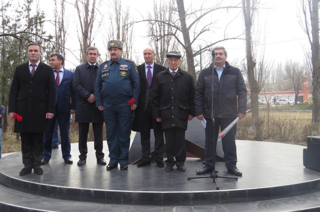 Партийцы приняли участие в митинге, посвященном 27-ой годовщине вывода советских войск из Афганистана