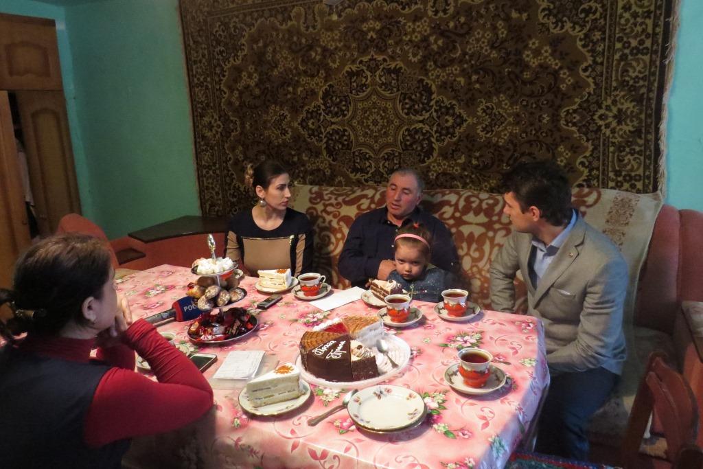 «Единая Россия» посетила ветерана Афганистана Муслима Шалухова