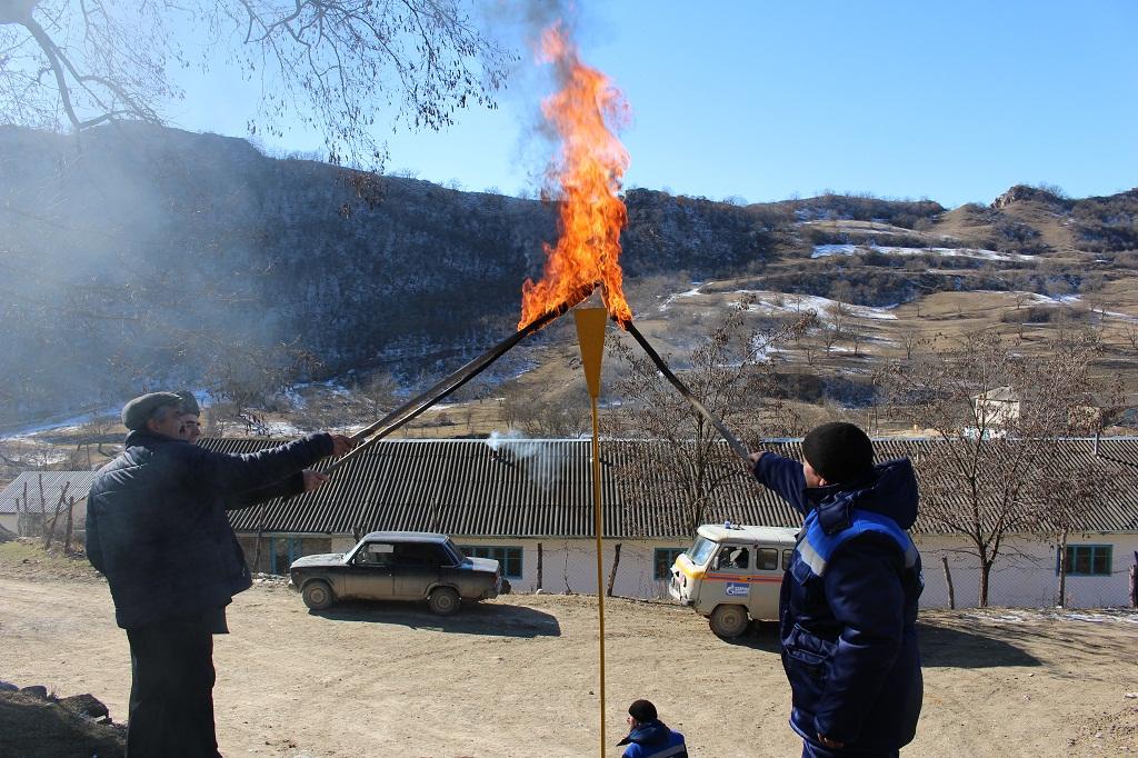 В Сергокалинском районе газифицированы села Нижнее Махарги и Бурдеки