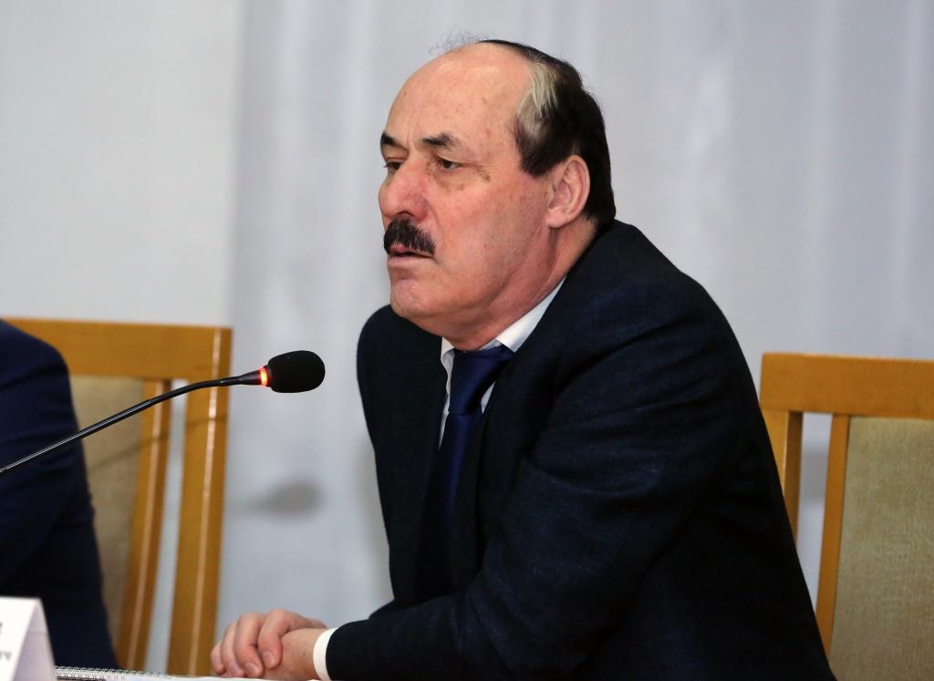 Глава Дагестана посетил Тарумовский район