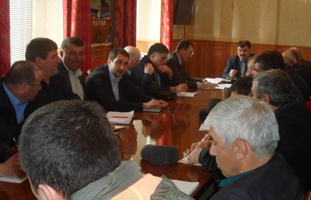 Заседание районного оргкомитета «Победа»