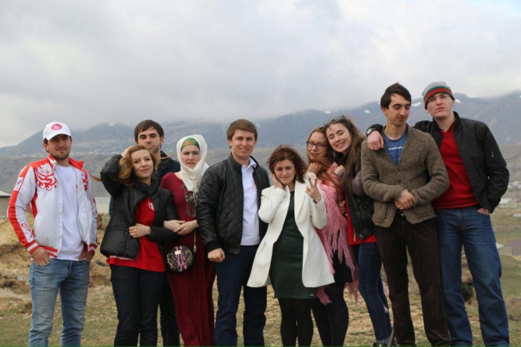 16 апреля команда и участники Школы помощников Президента посетили Хунзахский район