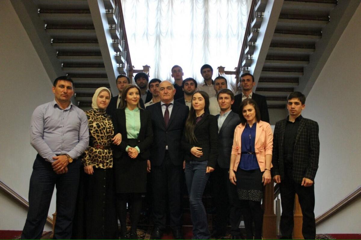 Встреча участников ШПП с Алибеком Алиевым