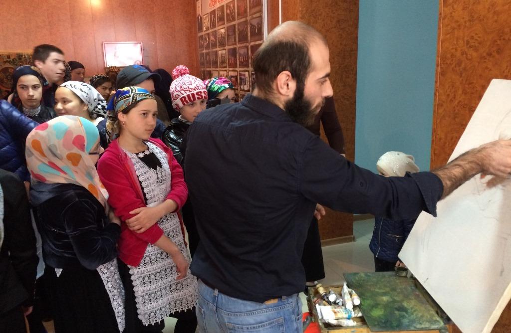 Творческий десант в Гергебильском районе