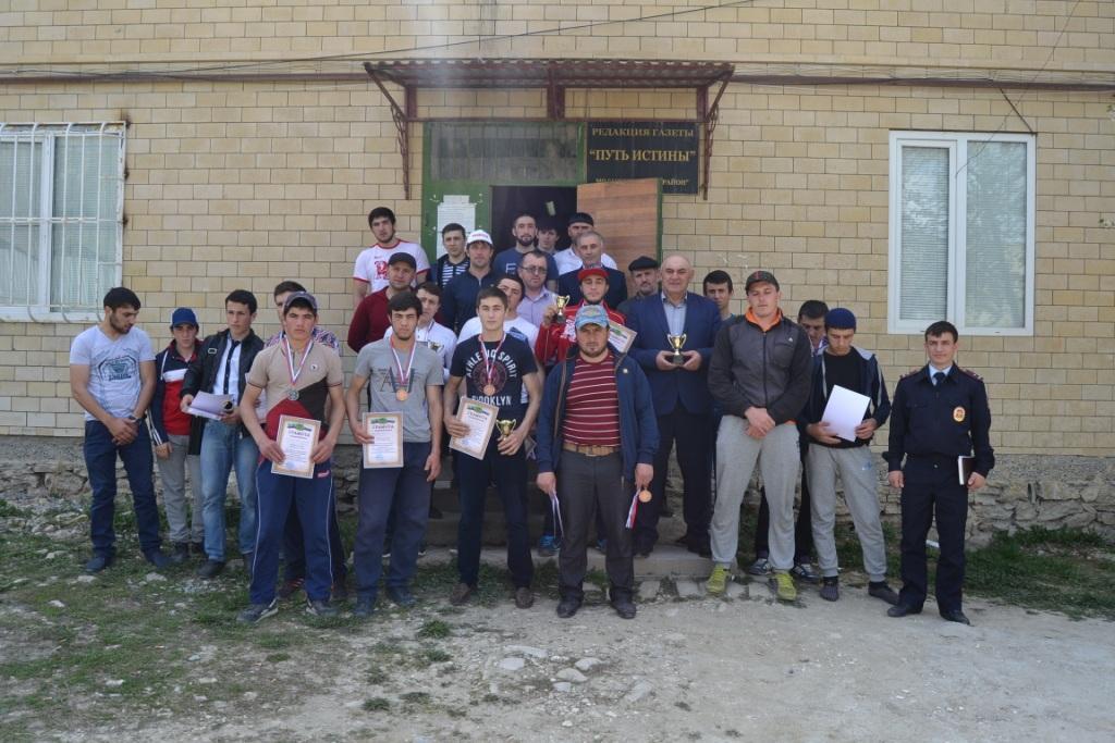 В Акушинском районе в рамках проведения Года гор  прошла спартакиада призывной молодёжи
