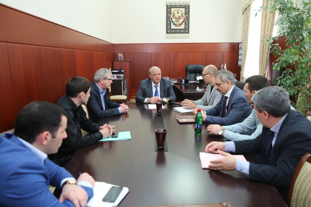 Анатолий Карибов встретился с представителями Национального Антинаркотического союза