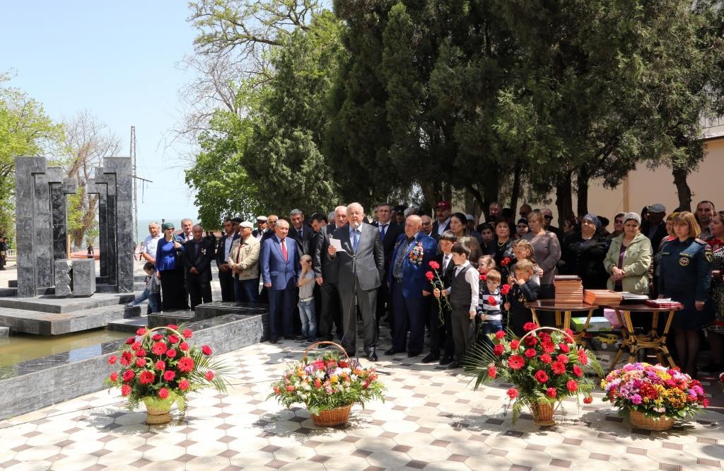 Анатолий Карибов принял участие в митинге, посвященном 30-й годовщине со дня катастрофы на Чернобыльской АЭС