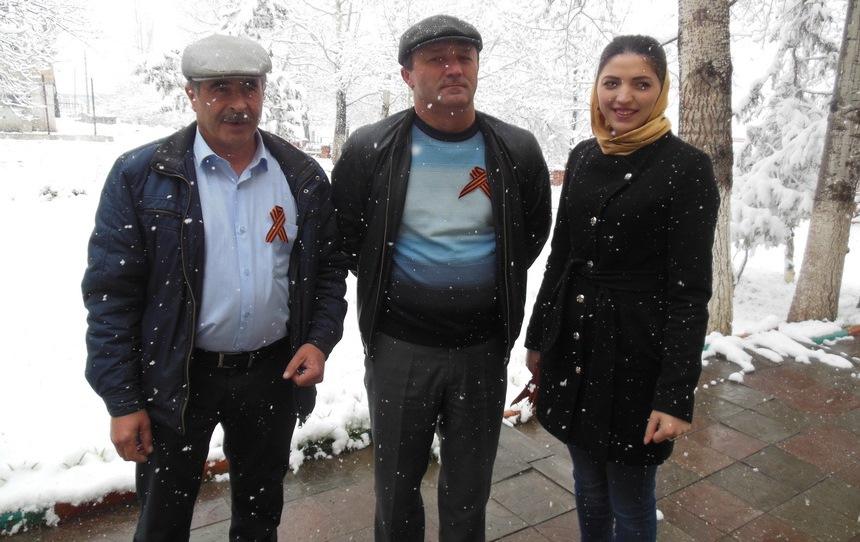 В Кулинском районе стартовала акция «Георгиевская ленточка»