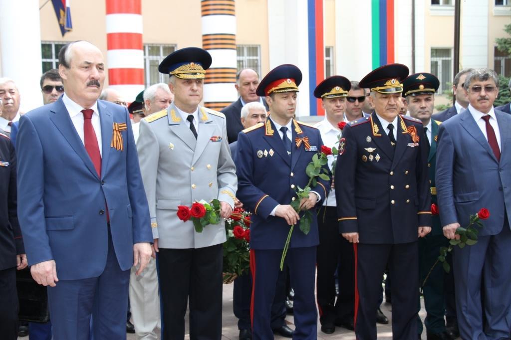 В День Победы сотрудники дагестанской полиции чествуют ветеранов Великой Отечественной войны