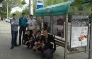 Акцию «Остановки Великой Победы» провели молодогвардейцы Дагестана