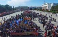 В шествии Бессмертного полка в Махачкале приняли участие более 14 тысяч человек