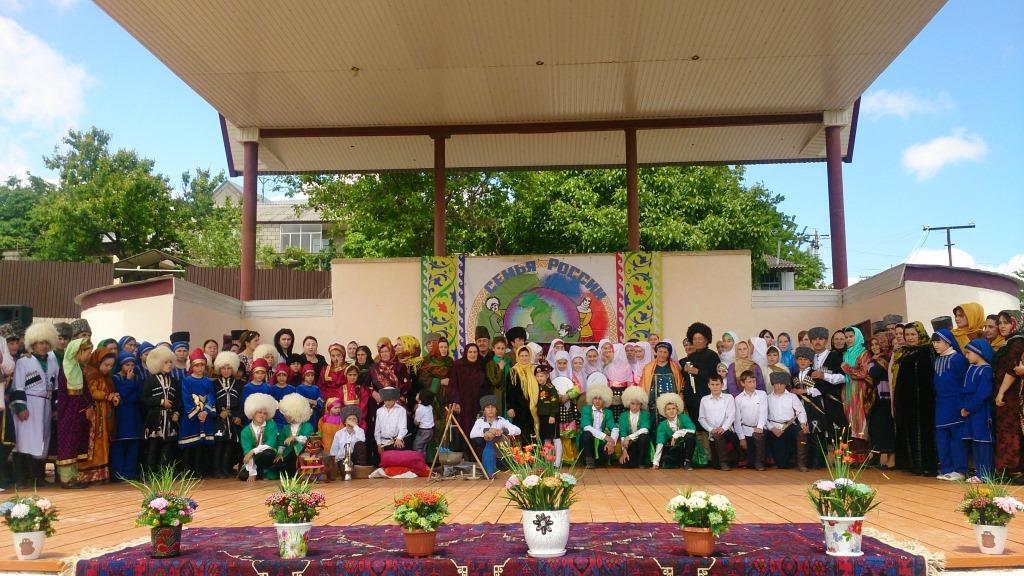 В Сергокалинском районе прошел фестиваль «Семья Дагестана»