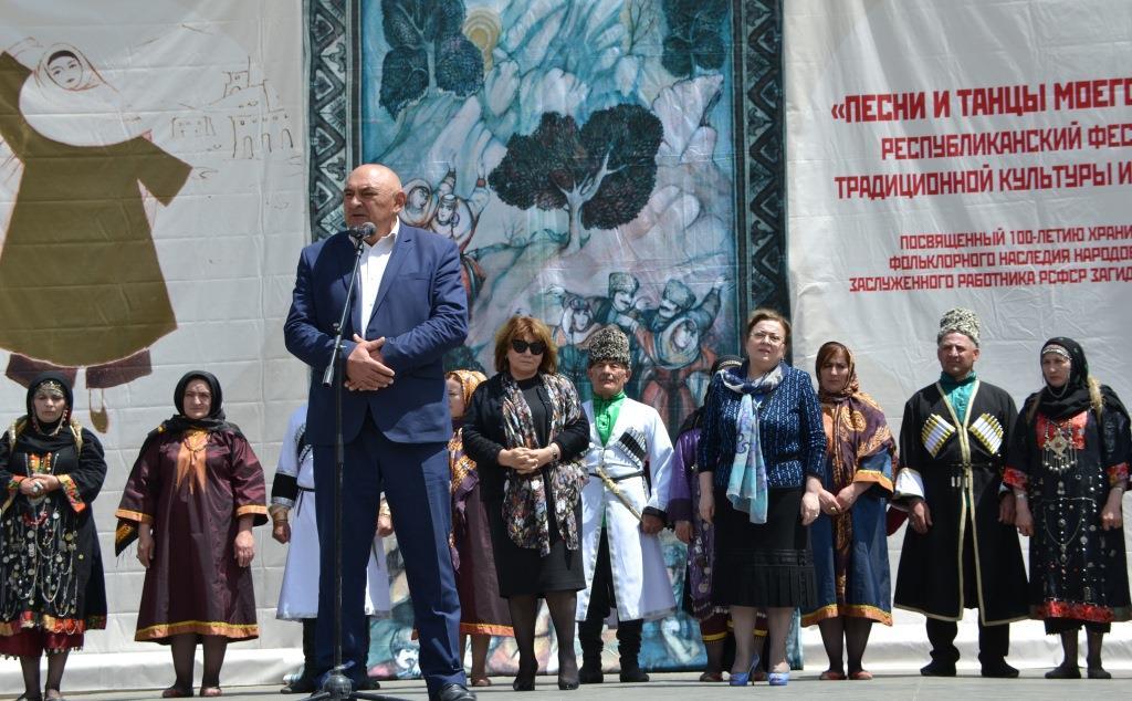 В Акушинском районе прошёл Республиканский фестиваль «Песни и танцы моего народа»