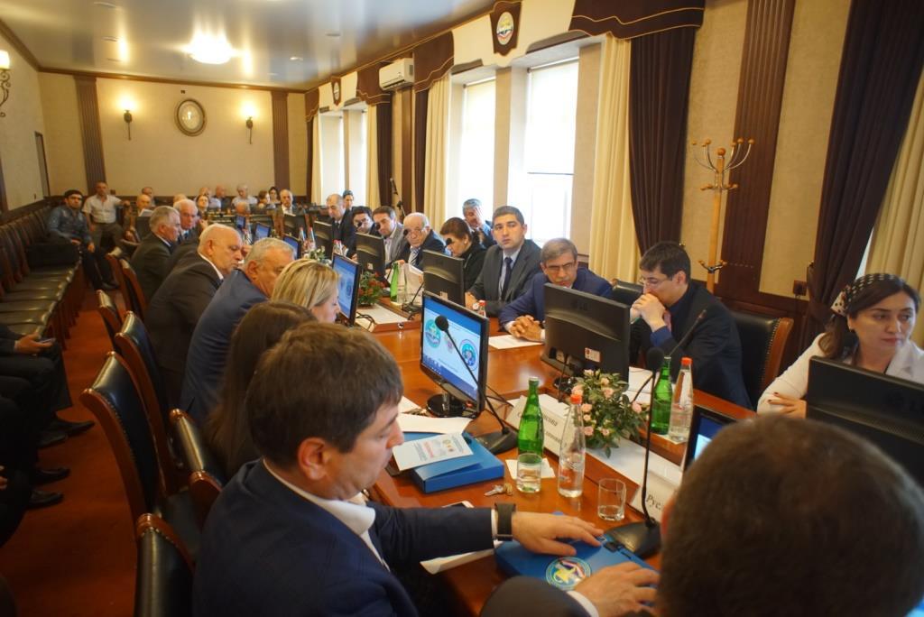 Заседание Координационного Совета научно-образовательного медицинского кластера СКФО прошло в ДГМА