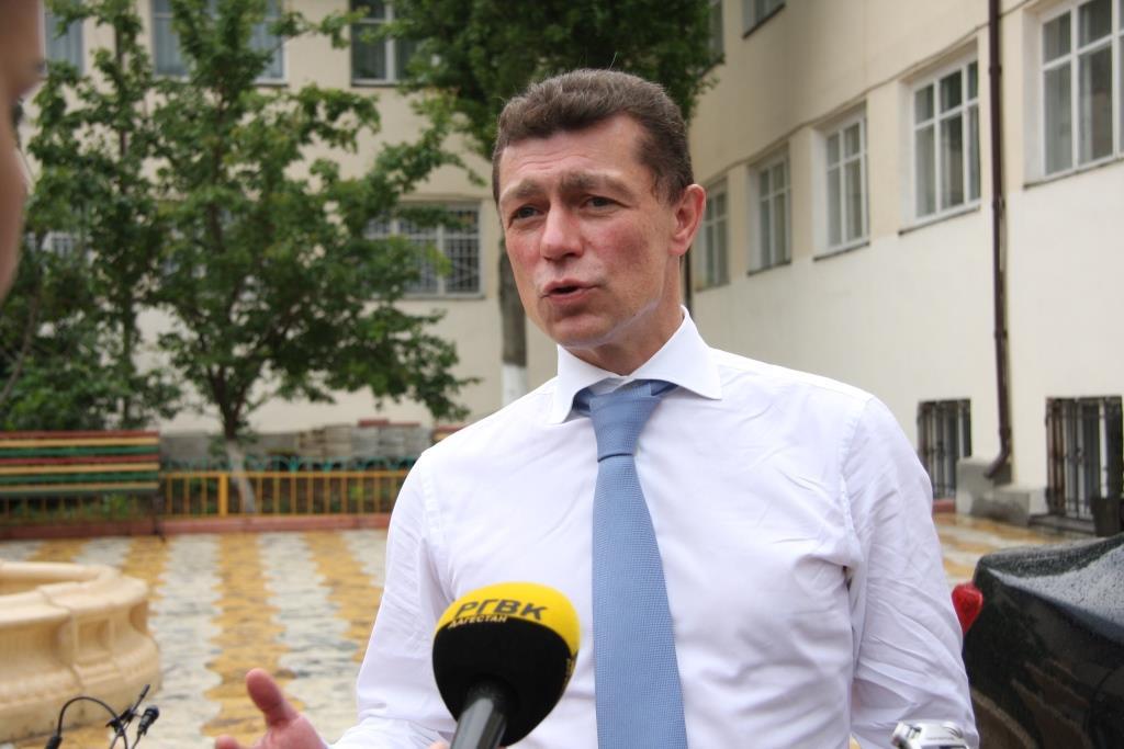 Максим Топилин посетил в Махачкале интернат «Забота»
