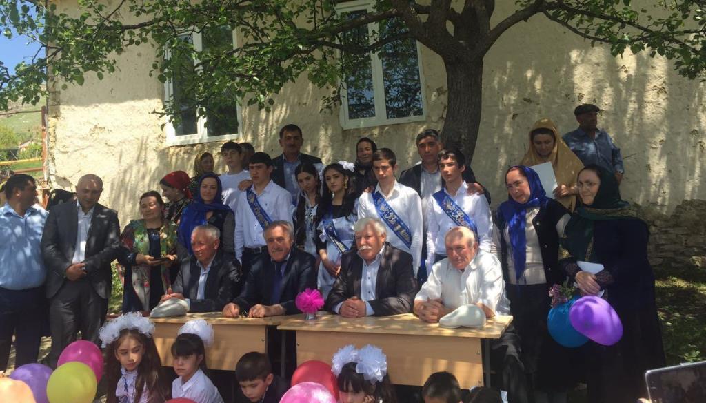 Праздник «Последнего звонка» прошёл в школах района