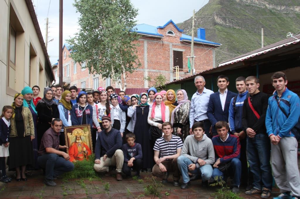 Культурный десант в Цумадинском районе