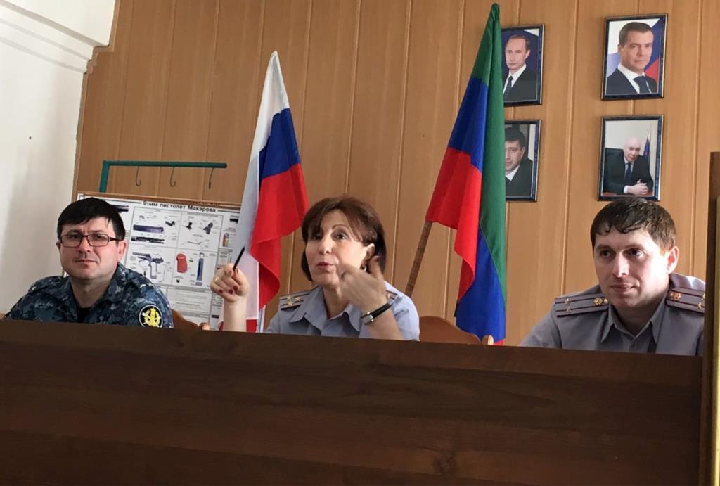 В ФКУ УИИ УФСИН России по Республике Дагестан обсудили вопросы противодействию коррупции
