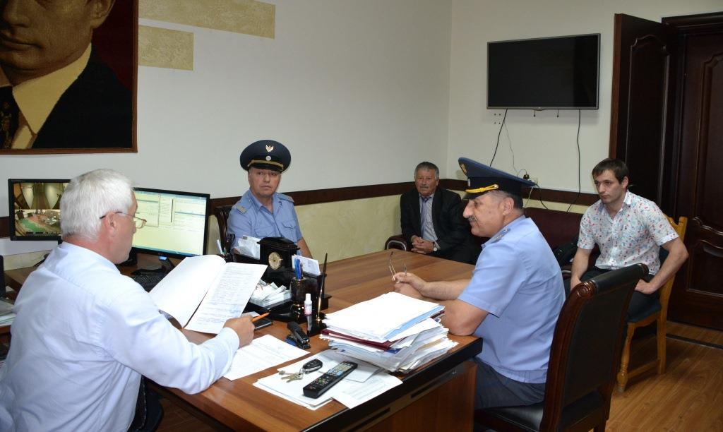 Представители управления Ространснадзора по РД побывали в Акушинском районе