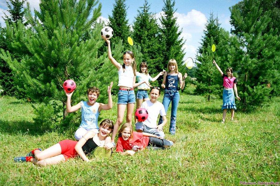 Лето – время активного оздоровления детей