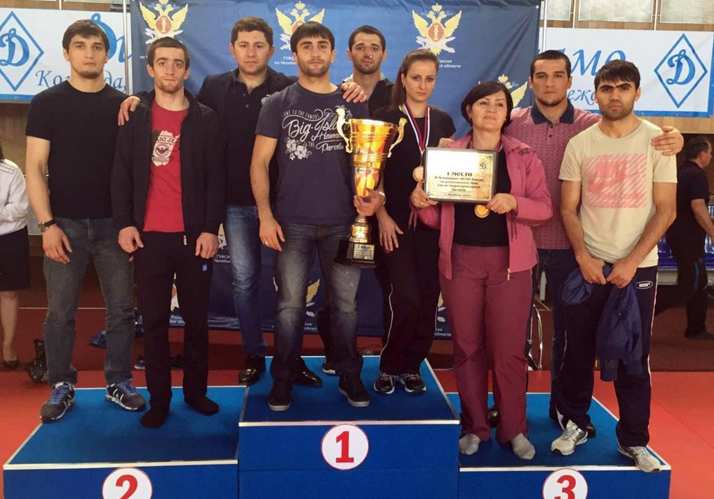 Сборная команда УФСИН России по Республике Дагестан стала победителем чемпионата ФСИН России по рукопашному бою