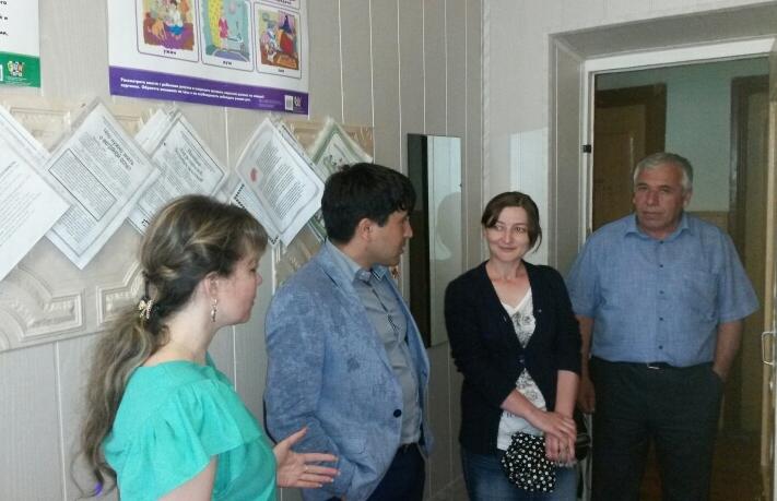 Эксперты ОНФ ознакомились с ходом реализации «майских указов» в Табасаранском районе