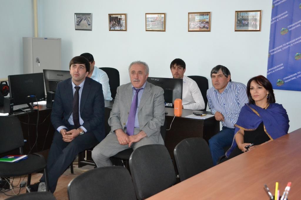 Арсен Гаджиев посетил Акушинский район