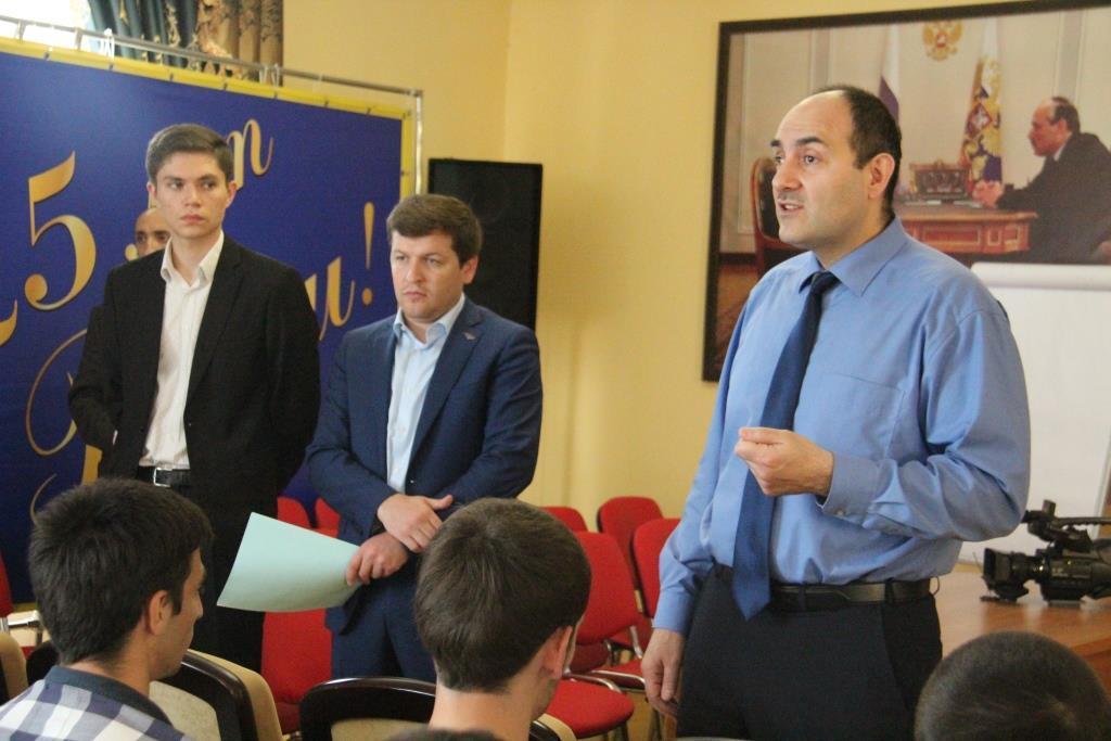 Центр занятости «Успех» Минтруда РД провел встречу со студентами ДГУНХ
