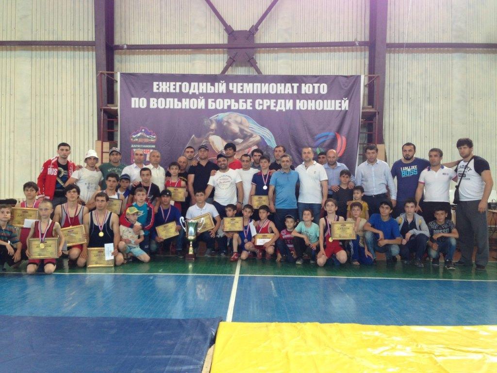 Чемпионат по вольной борьбе в ДагОгнях