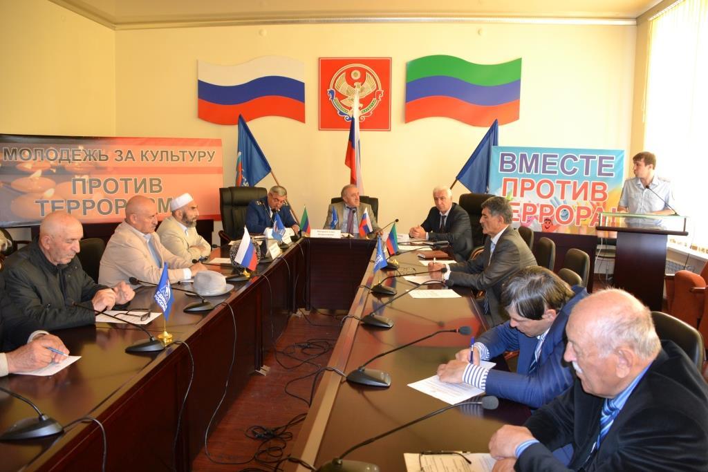 В Акушинском районе прошло расширенное заседание Общественной палаты