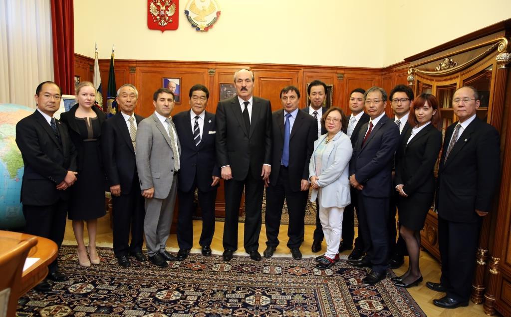 Рамазан Абдулатипов встретился с японскими бизнесменами