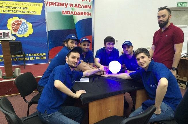Команда Дагестанского филиала РусГидро вышла в финал игры «Брейн-ринг»