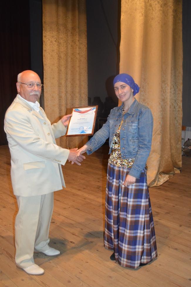 Этнические дагестанки Калуги удостоены благодарственных писем