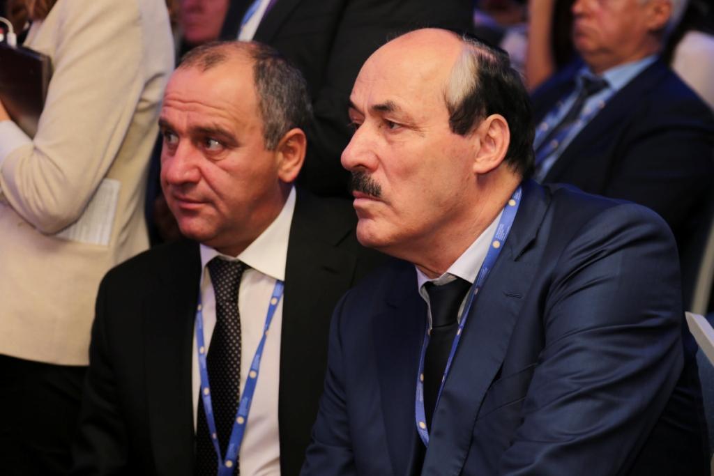 Рамазан Абдулатипов принял участие в Панельной сессии XX Петербургского международного экономического форума