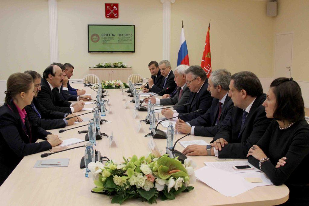 Георгий Полтавченко: «Сотрудничество с Дагестаном необходимо активизировать»
