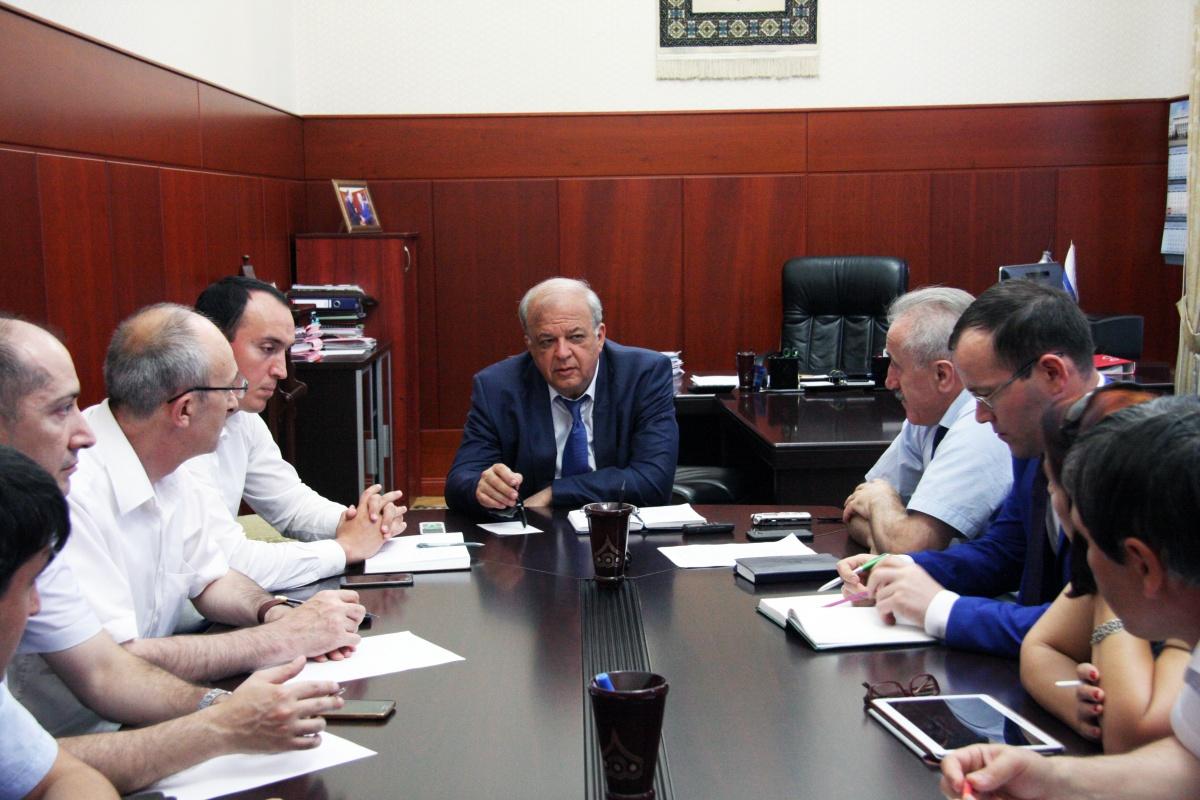 Под руководством Анатолия Карибова обсуждены вопросы  проведения III Всероссийского форума «Чиндирчеро-2016»