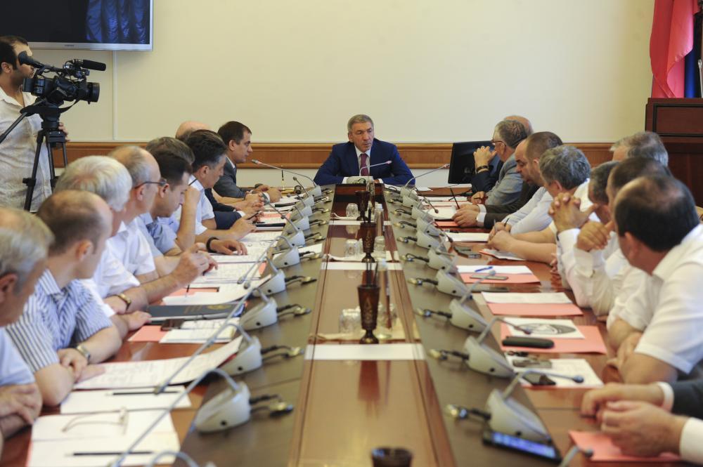 В Правительстве Дагестана прошло заседание оргкомитета по проведению Года гор