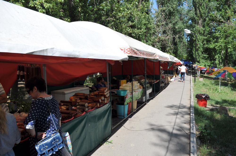 В Махачкале открылась продовольственная ярмарка к празднику Ураза-байрам